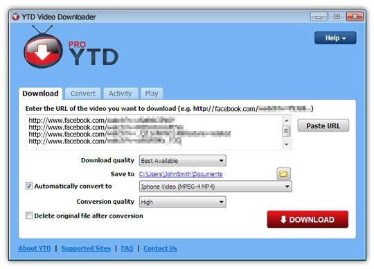 YTD Video Downloader Pro Free Download