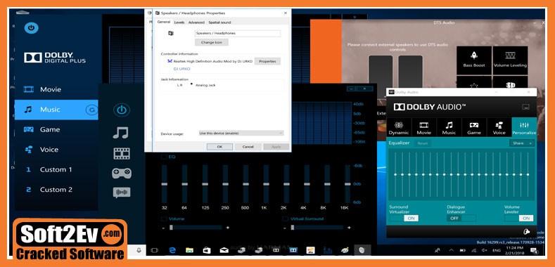 Dolby Access Crack & Premium (Windows 10) Full Version
