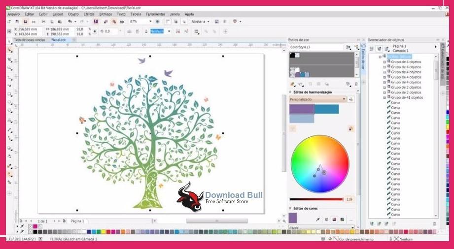 Corel Draw X7 Crack 32 64bit Windows 7 8 81 Download