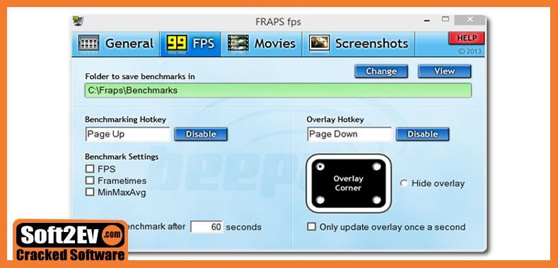 Fraps 3 5 99 Crack & Serial (Torrent) For Win & Mac - Cracked Software