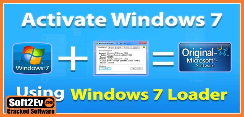 Windows Loader 2.2.3 By Daz