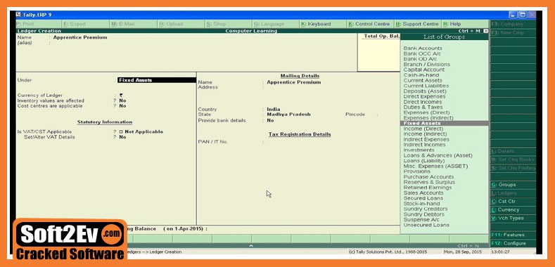 tally erp 9 gst free download