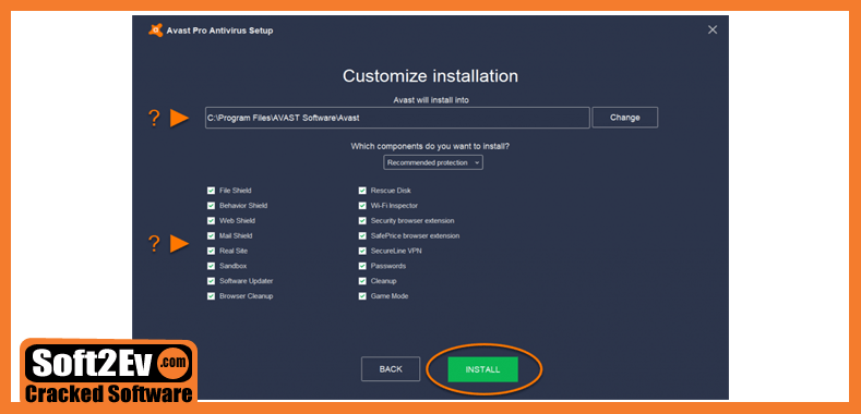 Avast Premier 2019 Crack + Activation code Till 2050 Full Version