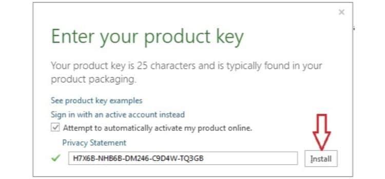 Office 2013 Key